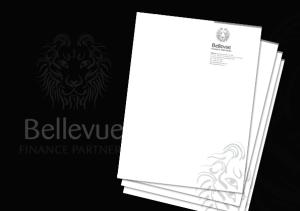 Bellevue letterheads