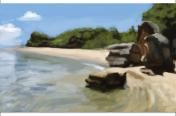Beach study 3