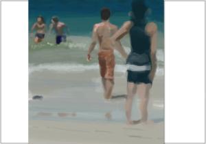 Beach study 4