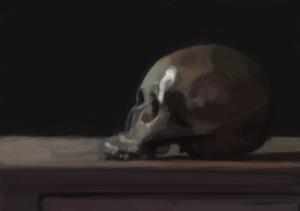 Skull 2 (digital)