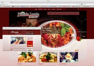 Pizzeria Locale website