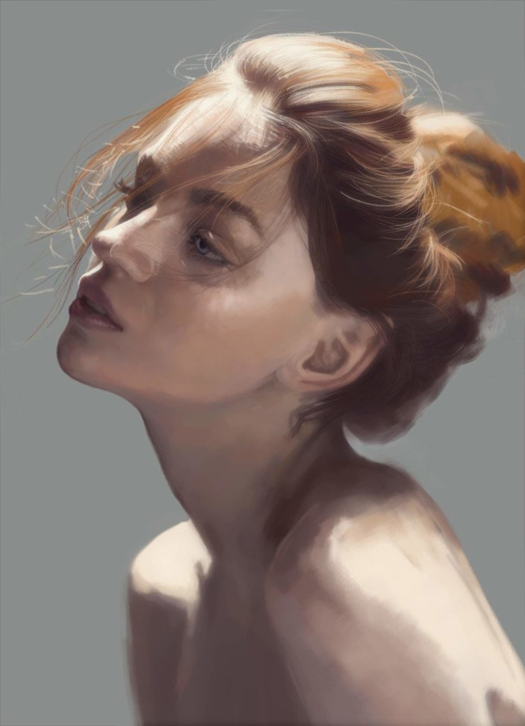 Anastasiya Kurylo digital painting