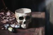 Skull (oils)